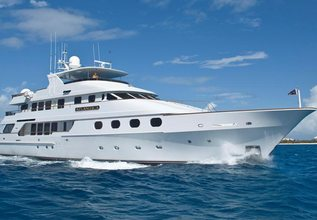 Queen D Charter Yacht at Palm Beach Boat Show 2014