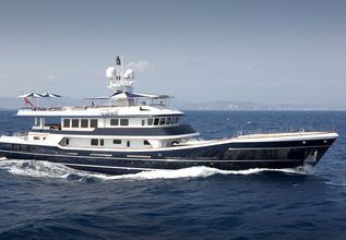 The Mercy Boys Charter Yacht at Mediterranean Yacht Show 2015