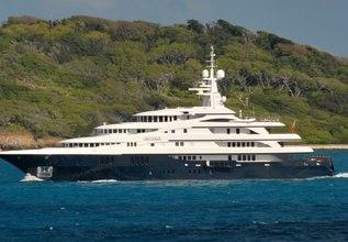 Freedom Charter Yacht at MYBA Charter Show 2013