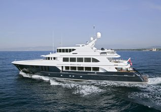 White Star Charter Yacht at Monaco Yacht Show 2015