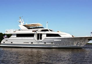 Innovator Charter Yacht at Palm Beach Boat Show 2013