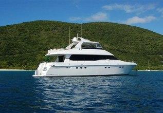 King Kalm Charter Yacht at Palm Beach Boat Show 2014