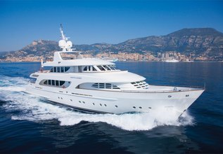 Northlander Charter Yacht at Palm Beach Boat Show 2014