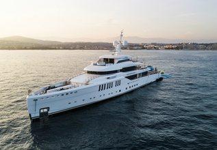 Seasense Charter Yacht at Monaco Yacht Show 2017