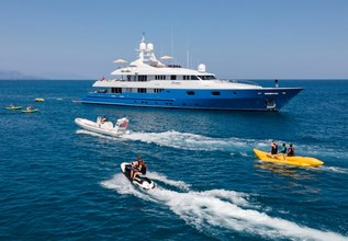 Mosaique Charter Yacht at Fort Lauderdale International Boat Show (FLIBS) 2021