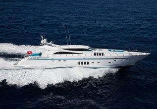 Kidi One Charter Yacht at Festival de la Plaisance de Cannes 2013