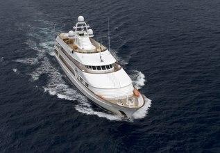 Vixit Charter Yacht at MYBA Charter Show 2014