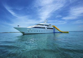 Island Heiress Charter Yacht at Fort Lauderdale Boat Show 2014