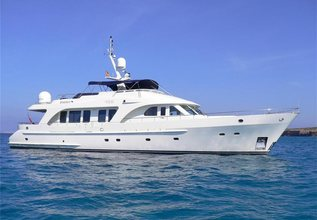Impetuous Charter Yacht at Antibes Yacht Show 2013