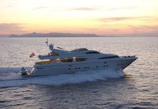 Theoris Charter Yacht at Mediterranean Yacht Show 2018