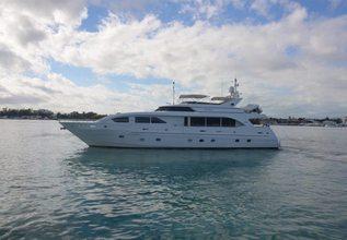 Carpe Diem Charter Yacht at Fort Lauderdale Boat Show 2015