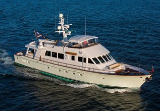 Reimagine Charter Yacht at Fort Lauderdale Boat Show 2014