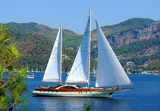 Justiniano Charter Yacht at Marmaris Yacht Charter Show 2017