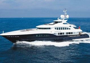 Sirocco Charter Yacht at MYBA Charter Show 2014