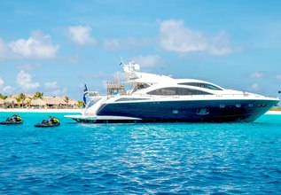 Lilly Charter Yacht at Palm Beach Boat Show 2019