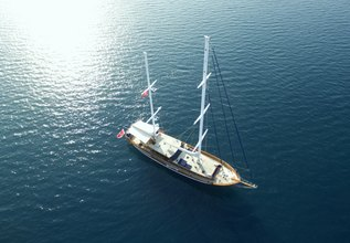 Queen of Datca Charter Yacht at East Med Yacht Show 2014