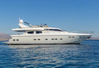Amoraki Charter Yacht at Mediterranean Yacht Show 2018
