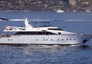 Moonraker II Charter Yacht at MIPIM 2014