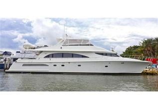 Yoly Charter Yacht at Palm Beach Boat Show 2014