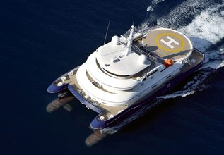 Nurja Charter Yacht at Miami Yacht Show 2018
