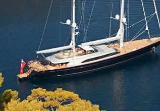 Melek Charter Yacht at Perini Navi Cup 2015