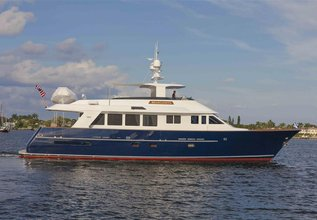 Checkers Charter Yacht at Palm Beach Boat Show 2014