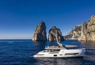 Sherpa XL/ 02 Charter Yacht at Palma Superyacht Show 2021