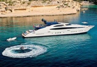 Siren Charter Yacht at Monaco Yacht Show 2015