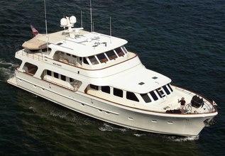Elijah Jane Charter Yacht at Fort Lauderdale Boat Show 2019 (FLIBS)