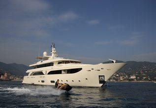 Hana Charter Yacht at Monaco Yacht Show 2015