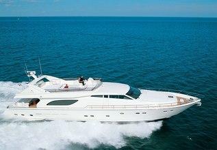 Lazy Days Charter Yacht at Mediterranean Yacht Show 2017
