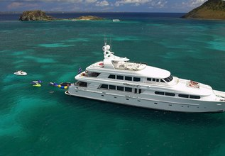 Charlotte Ann Charter Yacht at Fort Lauderdale Boat Show 2015