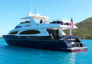 Limitless Charter Yacht at Palm Beach Boat Show 2014