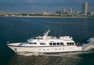 Fine Print Charter Yacht at Fort Lauderdale Boat Show 2017