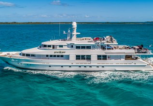 Starship Charter Yacht at Fort Lauderdale Boat Show 2015