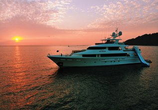 Pipe Dream Charter Yacht at Fort Lauderdale Boat Show 2015