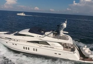 La Belle Shesh Charter Yacht at Fort Lauderdale Boat Show 2019 (FLIBS)