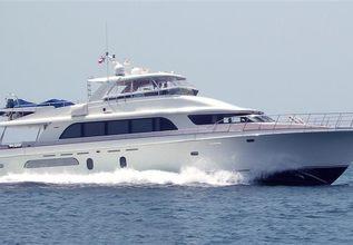 Windward Charter Yacht at Palm Beach Boat Show 2017