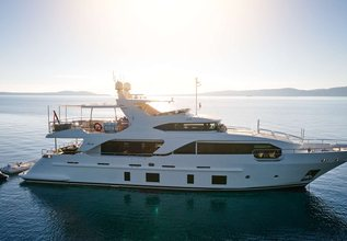 Ocean Drive Charter Yacht at Fort Lauderdale Boat Show 2015