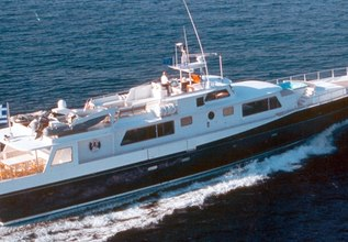Alaya Charter Yacht at East Med Yacht Show 2015