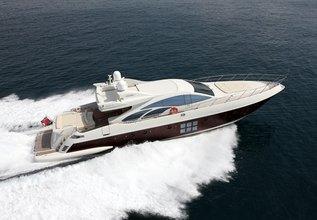 Mosafa Charter Yacht at Antibes Yacht Show 2013