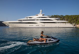 O'Ptasia Charter Yacht at Monaco Grand Prix Yacht Charter