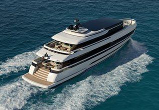 ISA Extra 130 Alloy Charter Yacht at Monaco Yacht Show 2019