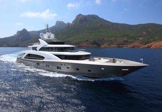 La Pellegrina Charter Yacht at Fort Lauderdale Boat Show 2015