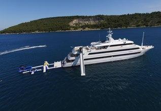 Katina Charter Yacht at Monaco Grand Prix Yacht Charter