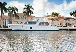 Sea Star Charter Yacht at Fort Lauderdale Boat Show 2014