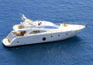 George V Charter Yacht at Mediterranean Yacht Show 2017
