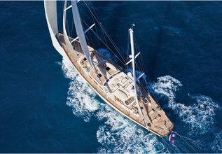 Galileo G Charter Yacht at Palm Beach Boat Show 2013