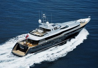 Gazelle Charter Yacht at Antigua Charter Yacht Show 2014