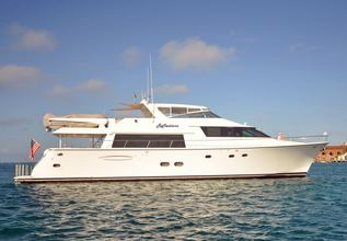 Harbor Lady Charter Yacht at Fort Lauderdale Boat Show 2015